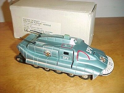 Captain Scarlet TV series - SPV Armored Tank complete w/figure snaps out MIB