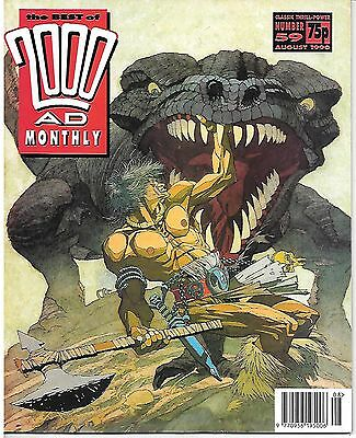 "Best of 2000 AD Monthly #59 (1990) Slaine ""Hero's Blood""/""Shoggey Beast"" McMahon"