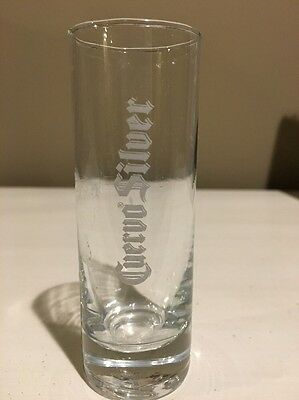 Jose Cuervo Silver Tequila  - Tall Shot Glass - 4""
