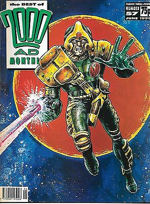 "Best of 2000 AD Monthly #57 (1990) Strontium Dog ""Outlaw"" Part 1 (of 2)"