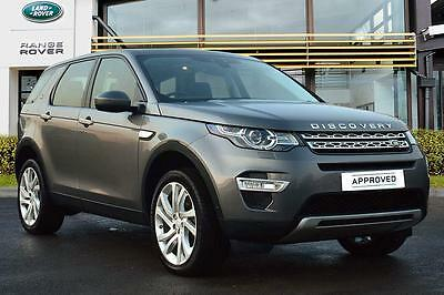 2016 Land Rover Discovery Sport TD4 HSE LUXURY Diesel grey Automatic