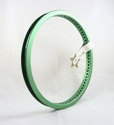 FlyBikes Original Rear BMX Cross Rim - Flat Green Bike Rim