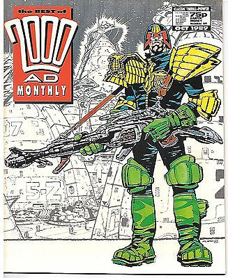 Best of 2000 AD Monthly #49 (1989) 6 complete Dredds by Bolland, Smith & Wilson