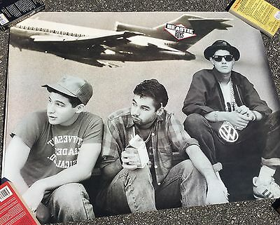 Beastie Boys Promo Licensed To Ill Poster 1986 RARE HIP HOP Def Jam