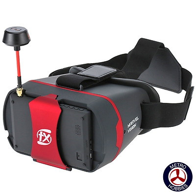 FXT Marvel Vision FPV Goggles 5.8Ghz 32Ch incl R Band FXTMVG Brand New