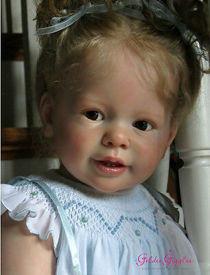 """New Reborn Toddler Doll Kit Katie-Marie By Ann Timmerman@29""""@Body Included"""