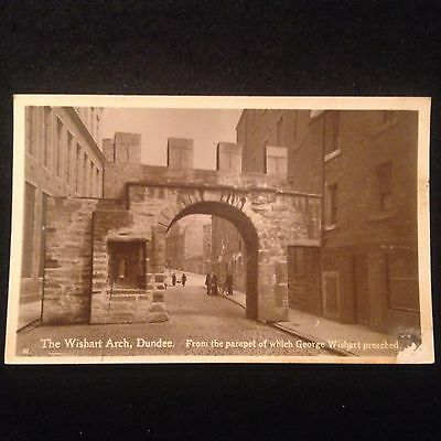 "Best Of All Series Postcard ""the Wishart Arch Dundee"""