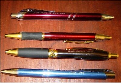 Lot Of 52 Nice All Metal Ballpoint Pens