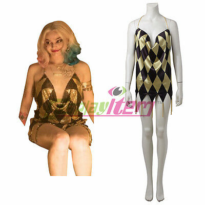 Suicide Squad Harley Quinn Club Dress cosplay costume custom size