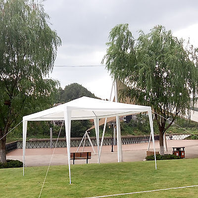 3m x 3m Gazebo Canopy Marquee Outdoor Waterproof Awning Garden Party Tent PE