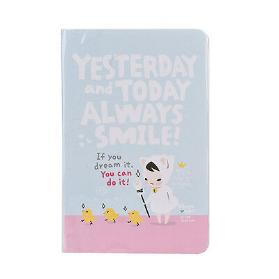 Fashion Cute 200 Pages  Diary Notebook Red Hat Girl Agenda Weekly Planner Gift