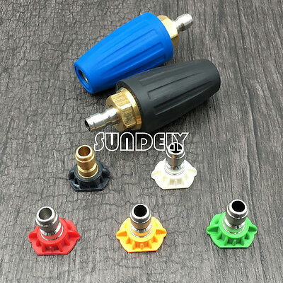 "England 1/4"" Quick Connect High Pressure Washer Turbo Nozzle Tip Various Models"