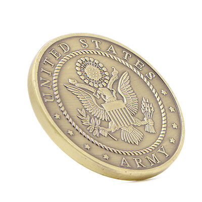 Gold Plated Put On The Full Armor Of God Army Coins Commemorative Collectible