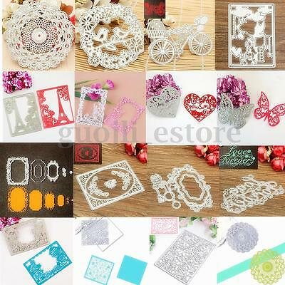HOT Metal Stencil Embossing Cutting Dies DIY Scrapbooking Paper Card Decor Craft