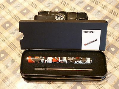 TROIKA 'DOWNTOWN TRIP'  Pen With Refill