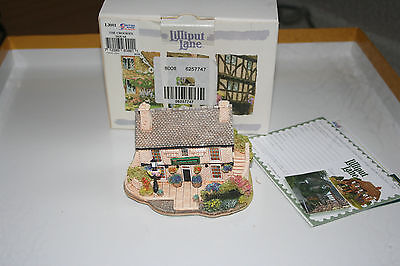 Lilliput Lane Crooked House Cottage