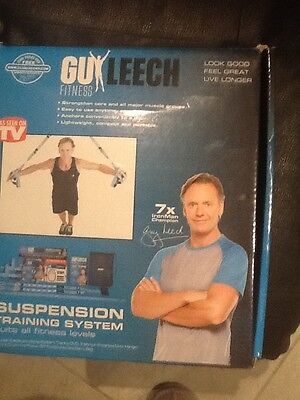 SUSPENSION TRAINING SYSTEM - GUY LEECH FITNESS - strengthen core, lightweight