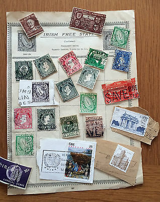 Collection of Vintage Stamps - Eire (2)