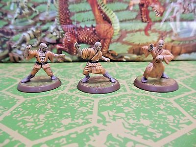 Shaolin Monks - Heroscape Jandar's Oath Wave 3 - Damaged Card