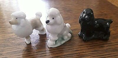 wade whimsies dogs x 3