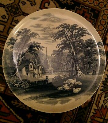 J&MP Bell & co :: Sardinia :: Wall plate/ plaque :: c1860