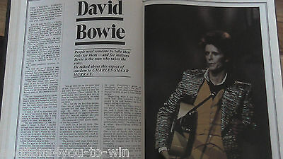 NME Pop Annual 1973 Bowie, Jagger, Lou Reed Nice Condition Reduced to only £5