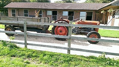 TRACTOR&TIPPING TRAILER MASSEY/FORD/OTHERS.VAT FREE Delivery possible.