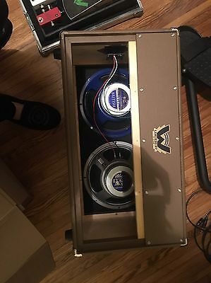 Weber Blue Dog And Silver Bell Ceramic Speakers