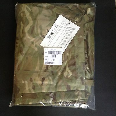 Military MTP Shelter Sheet Basha And Bag, New In Packet.