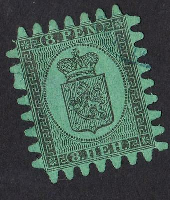FINLAND  N °: 6   Stamp with obliteration CATALOGUE : 225  €