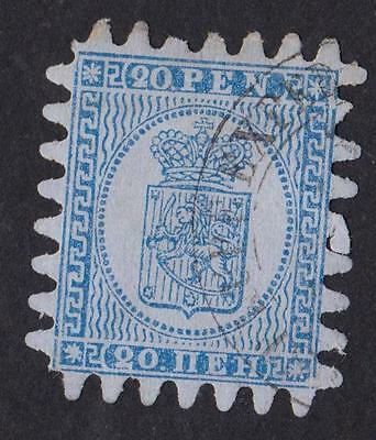 FINLAND  N °: 8   Stamp with obliteration CATALOGUE : 90  €