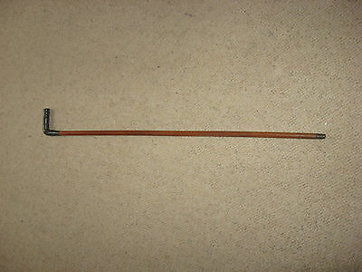 Riding crop vintage Silver handle Hallmarks