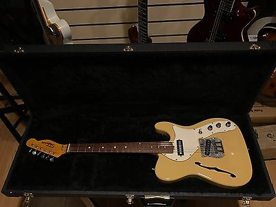Shaftesbury Thinline Telecaster made in Italy 1970s Inc. Hardcase