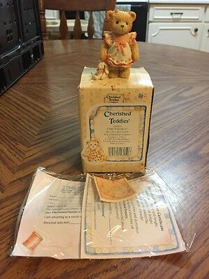"""Cherished Teddies By Enesco #624853 """"Child Of Kindness"""""""