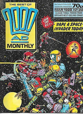 Best of 2000 AD Monthly #30 (1988) The VCs - McMahon, Leach & Kennedy artwork