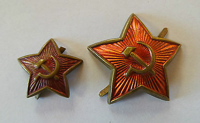 2x KPD RFB Mützenabzeichen 161 Kokarde Roter Stern Rot Front Rote Armee Red Army