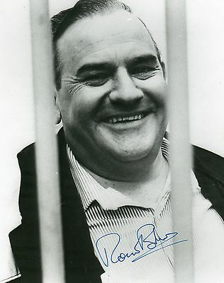 Authentic Signed Ronnie Barker 10 X 8 Porridge Photo.fletch..real Signature..coa