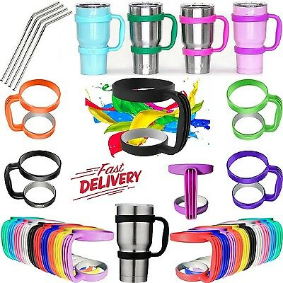 Handle for 30 Oz YETI Tumblers Holder Coffee Cup Lids Straws Tumbler Accessories