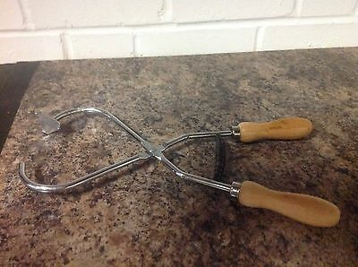 Glaze Claw / Tongs (Wood  handles)