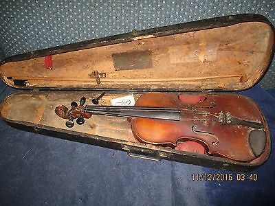 Lowendall 4/4 violin labeled Giovan Paolo Maggim Brefeia 16...UPDATE : LABEL PIC