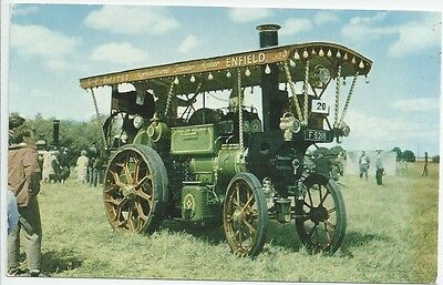 Aveling and Porter Showman's Tractor, No. 7612