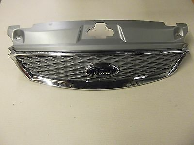 Ford Mondeo Mk3 04 - 07 Facelift Chrome Front Grill Grille Ford Badge