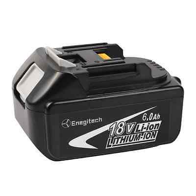 Enegitech 1 Pack 18V 6.0AH LXT Lithium-Ion Replacement Battery for Makita BL1860