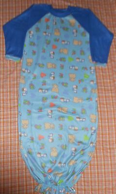 Adult Baby Sleeper/Gown Infant Style - Teddy Bear and Toys Design ABDL