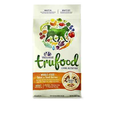 Wellness TruFood Baked Blends Natural Grain Free Dry Raw Dog Food, Chicken, Chic