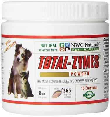 NWC Naturals - Total-Zymes- Digestive Enzymes for Dogs and Cats - Treats 365 Cup
