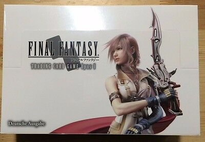 Final Fantasy TCG Booster/Display