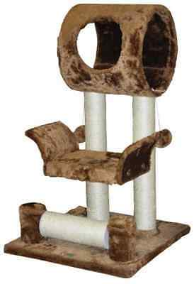 Go Pet Club 28-Inch Cat Tree Condo House Furniture, Brown