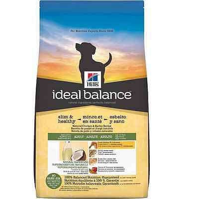 Hill's Ideal Balance Slim Healthy Natural Chicken and Barley Recipe Adult Dog Fo