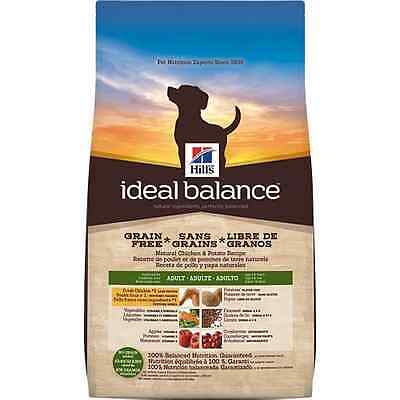 Hill's Ideal Balance Adult Grain-Free Chicken and Potato Dry Dog Food 9.5kg/21-P